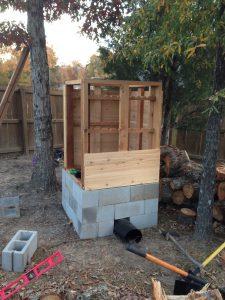 Cedar-smokehouse-construction-7
