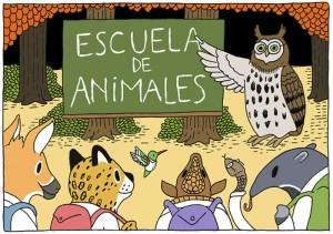 escuela de animales
