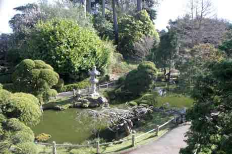 A quiet pond.