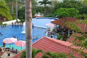 One of the hotel pools.