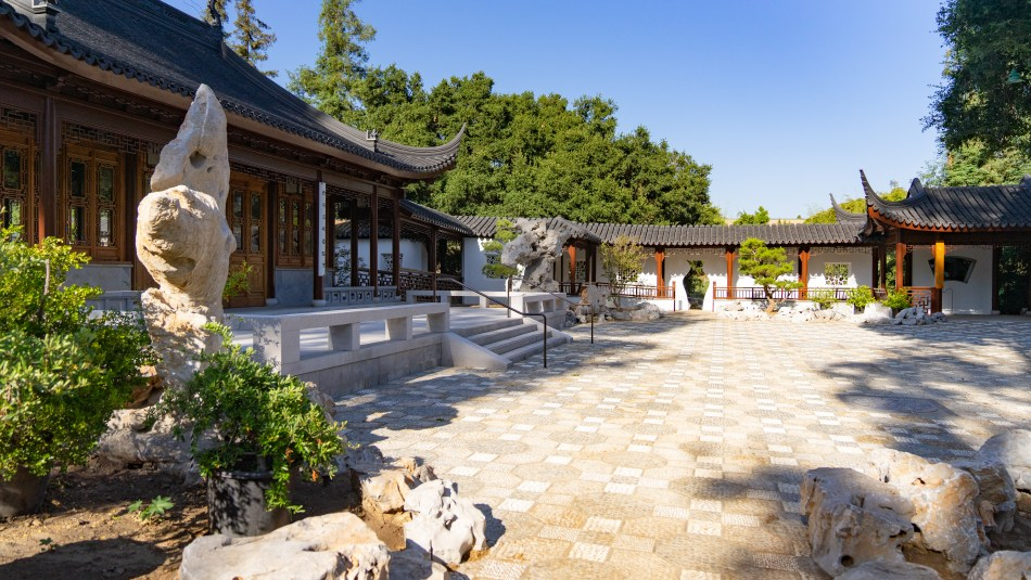 The Courtyard of Assembled Worthies, Chinese Garden, The Huntington