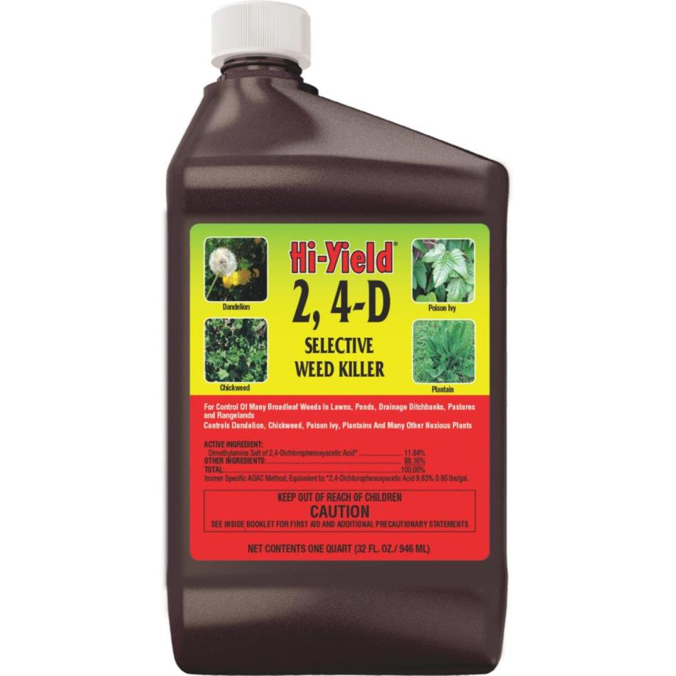 Bottle of 2,4-D