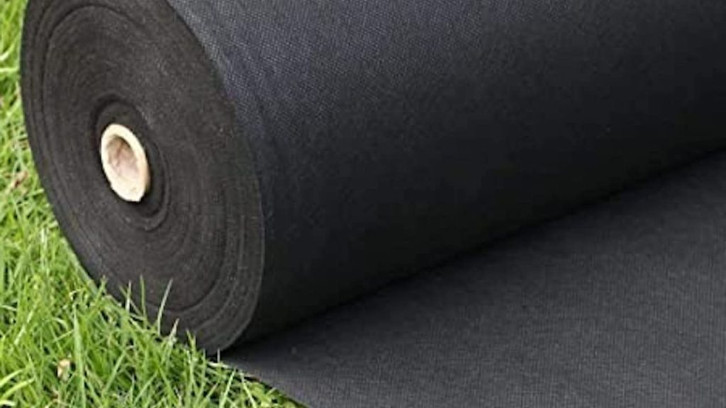 Roll of landscape fabric