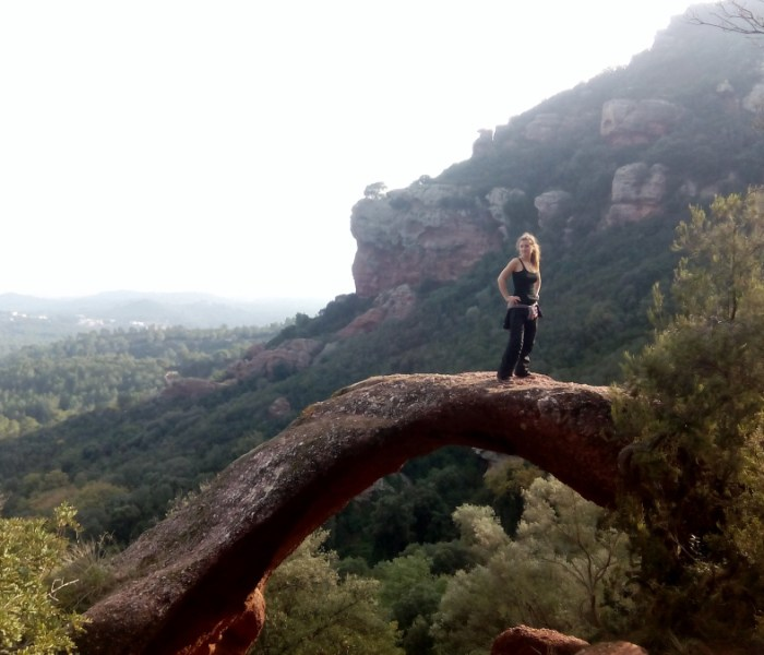 A stunning hiking trail in Gavà
