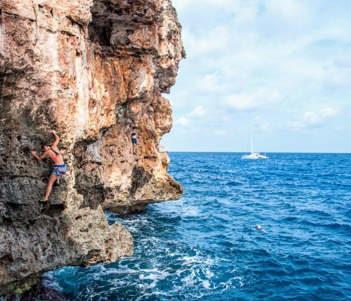 Cala Marçal – Deep Water Soloing in Mallorca