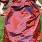 Robe 16 ème siècle en taffetas femme sur-mesure