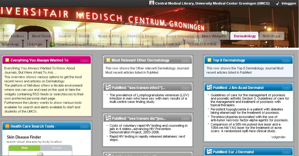 groningen-dermatology-netvibes