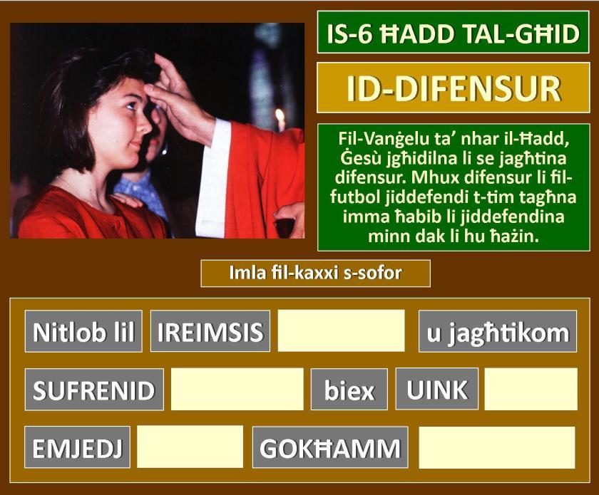 6 Hadd tal-Ghid
