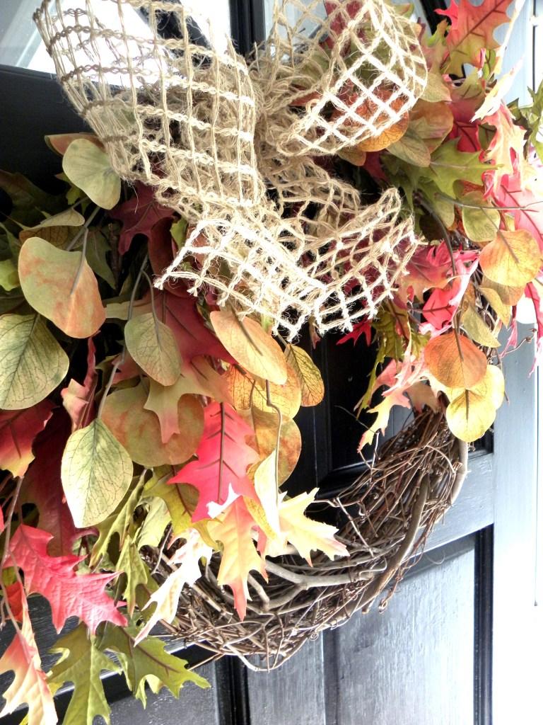 Laila Belles Fall Door Wreath