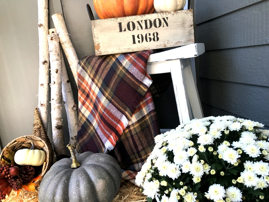 Laila Belles Fall Front Porch
