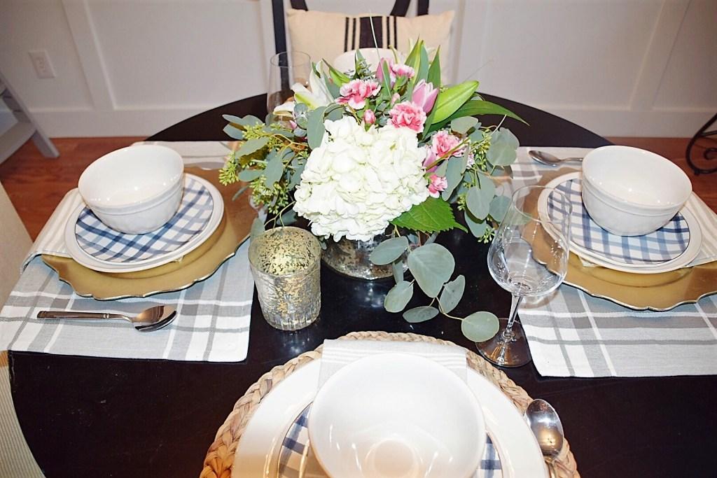 January Dining Room Table & Family Recipe