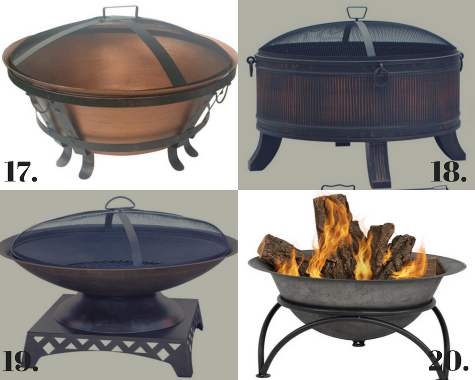 NATIONAL SMORE'S DAY - the 20 Best Fire Pits under $200!!