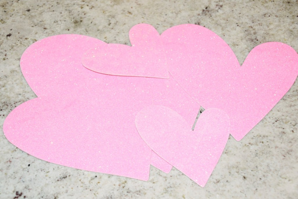 DIY Valentine's Day Banner for $0! In less than 10 Minutes!
