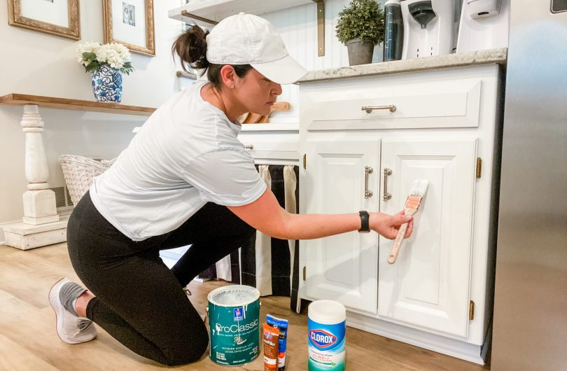 How to Maintain Painted Cabinets & Trim