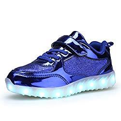 BEGT SMOEYAKIO LED Light Up Shoes for Boys