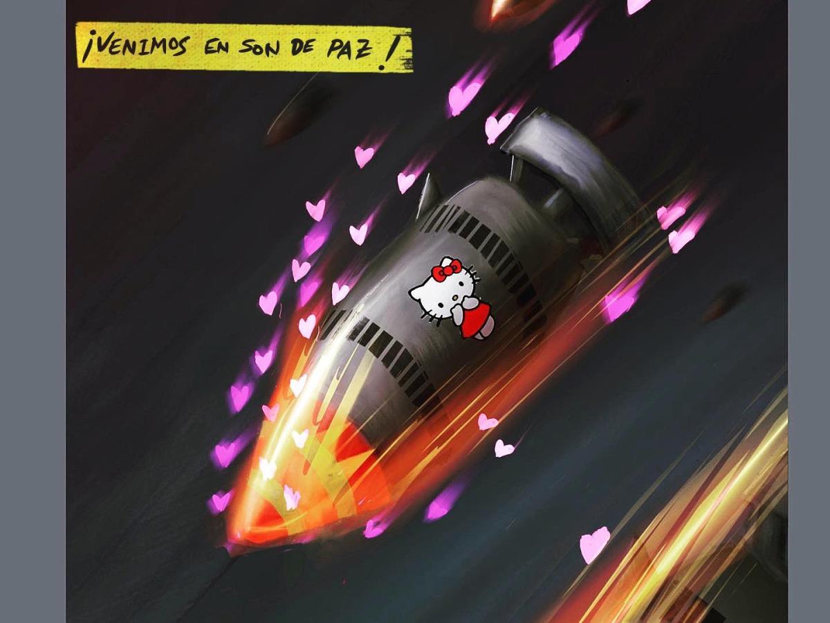 foto bomba misil