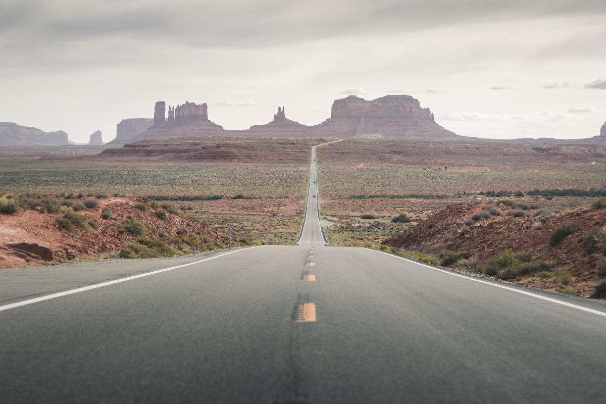 foto carretera rutas desierto