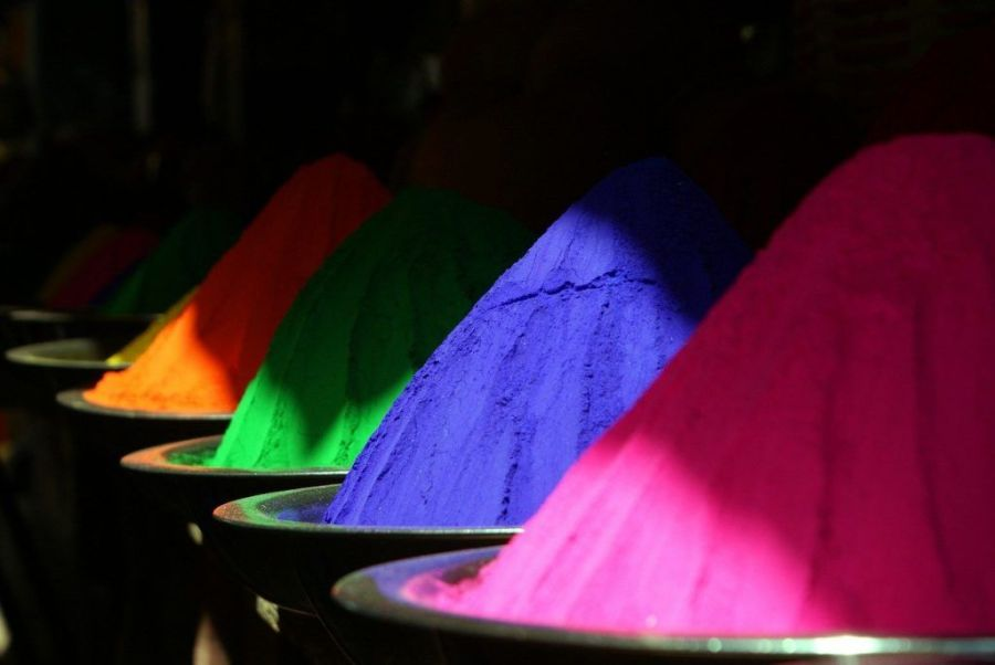 Fiesta de los colores holi