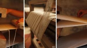 Laines Paysannes Tissage artisanal