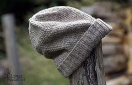 Laines Paysannes Boutique Chaussettes bonnet gris