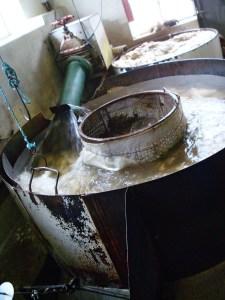 Laines Paysannes transformateur lavage de la laine à Niaux