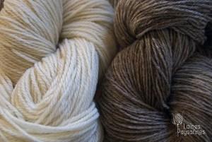 Laines Paysannes pelotes en laines locales