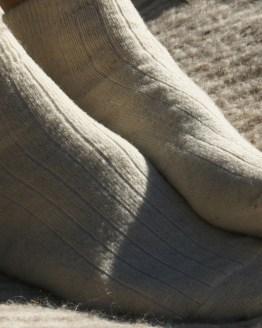 Socquettes pure laine Ariège Laines Paysannes