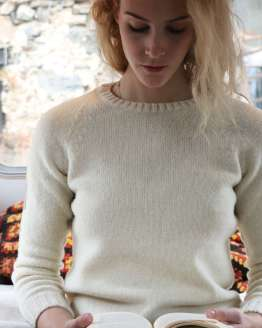 pull pure laine bio fabrique france