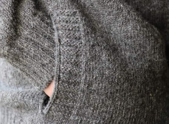blouson pure laine francaise