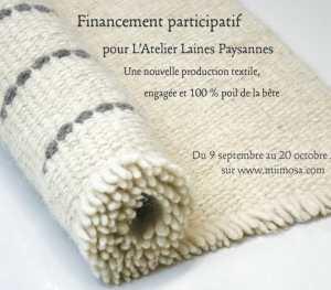Financement participatif Laines Paysannes