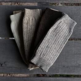 Guêtres pure laine française
