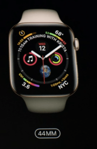 Apple Watch Series 4 en La Isla del Faro.