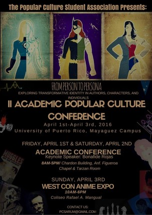 2nd Academic Popular Culture Conference