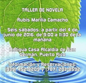 Taller Rubis Marilia Camacho