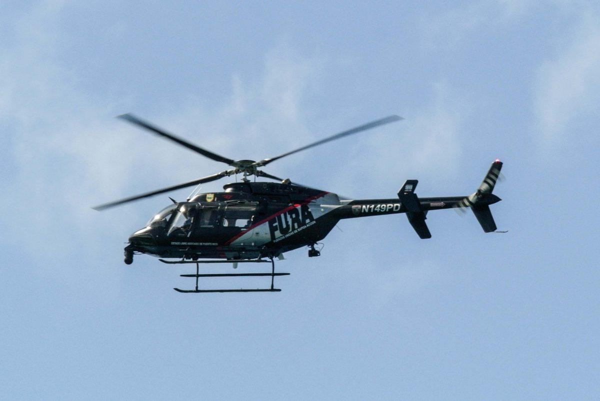 Fura Helicoptero Policia 3697