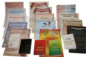 piršlio diplomai ir dokumentai