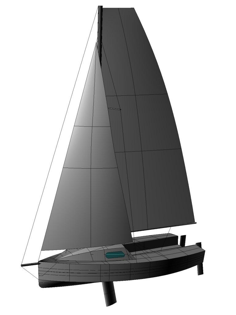 Laïta Cinq en cours de conception