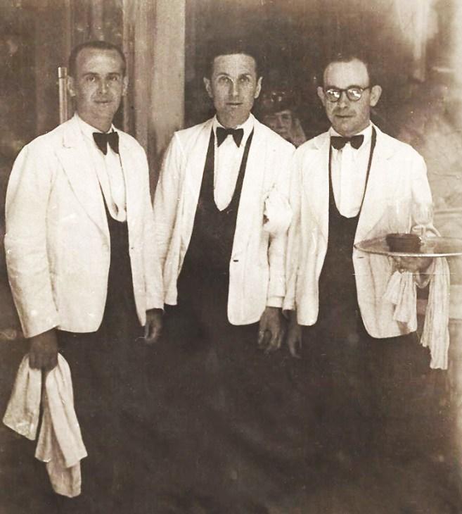 Henri Pastore à gauche