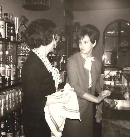 Mme Pastore Henri et sa fille Edith