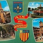 Souvenirs d'Aix-en-Provence