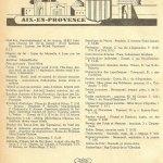 Le guide professionnel d'Aix 1942-1943
