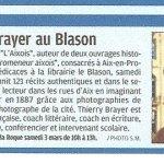 Dédicace de Thierry Brayer