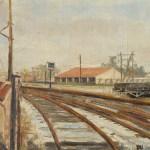 La Gare de Marchandises d'Aix par Jacky Chabert