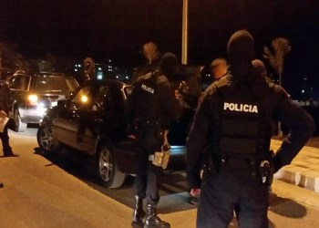 Të shtëna me armë zjarri në Tiranë