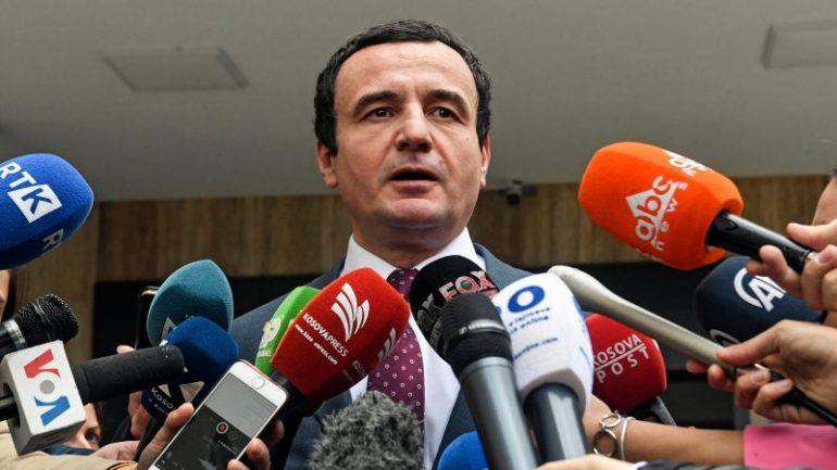 Aksidentohet eskorta e Albin Kurtit në Tiranë