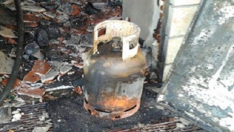 Shpërthen bombola e gazit