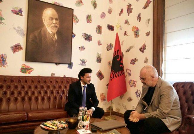 Rama pret në zyrë zv.kryeministrin shqiptar të Malit të Zi