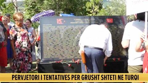 Përkujtohet sot në Tiranë tentativa për grushtin e shtetit në Turqi