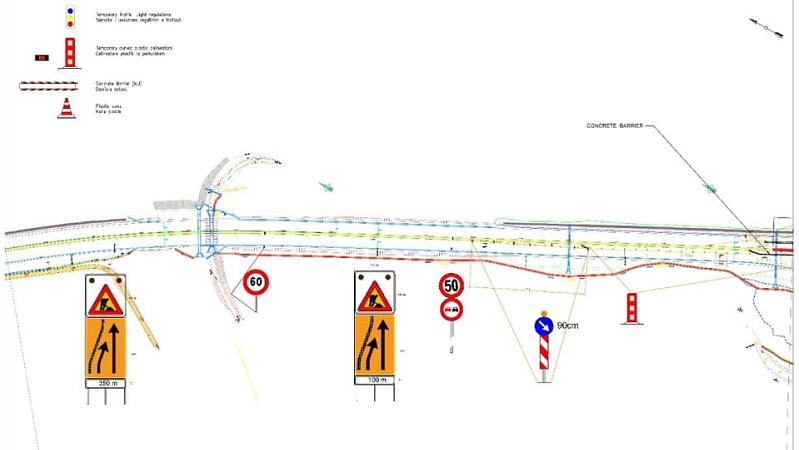 Nesër fillon riparimi i trafik ndarësve