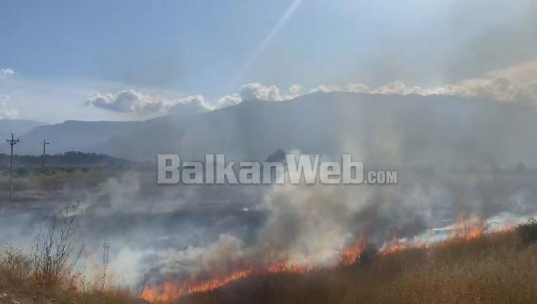 VIDEO/ Vatër e re zjarri në Dropull